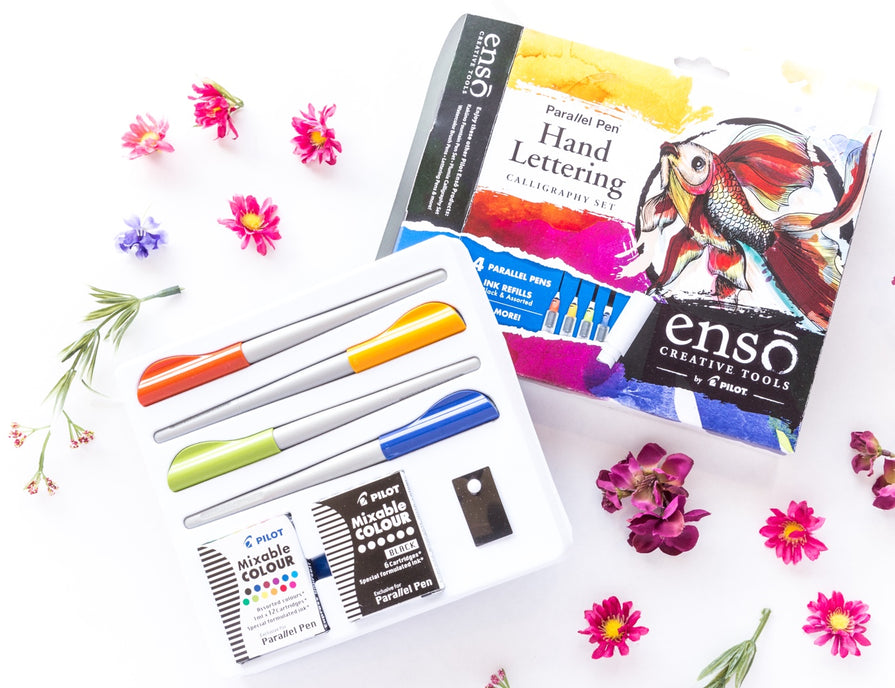 Pilot Enso Fountain Pen hand-lettering gift sets