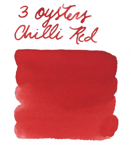 3 Oysters Chilli Red