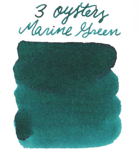 3 Oysters Marine Green
