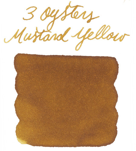 3 Oysters Mustard Yellow