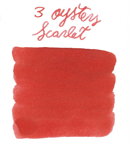 3 Oysters Scarlet