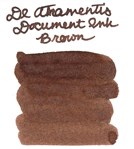 De Atramentis Document Brown