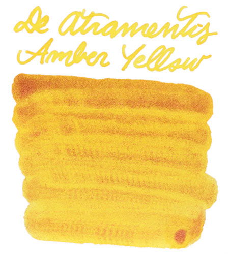 De Atramentis Amber Yellow-Copper