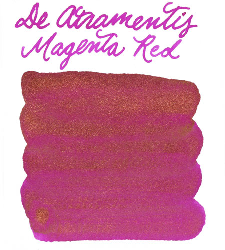 De Atramentis Magenta Red-Copper