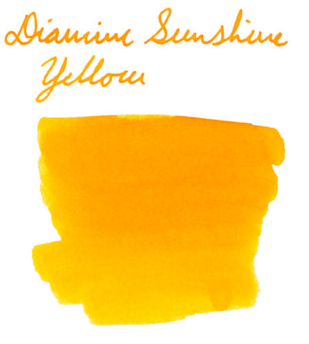 Diamine Sunshine Yellow
