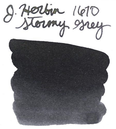 Jacques Herbin 1670 Stormy Grey