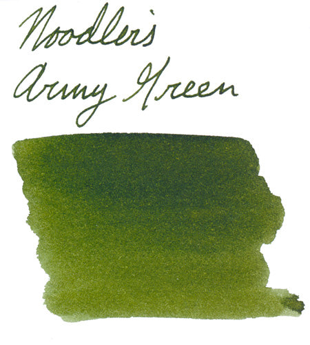 Noodler's Army Green