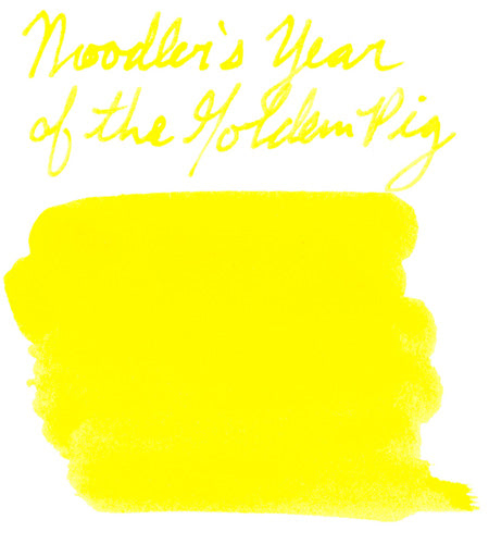 Noodler's Year of the Golden Pig