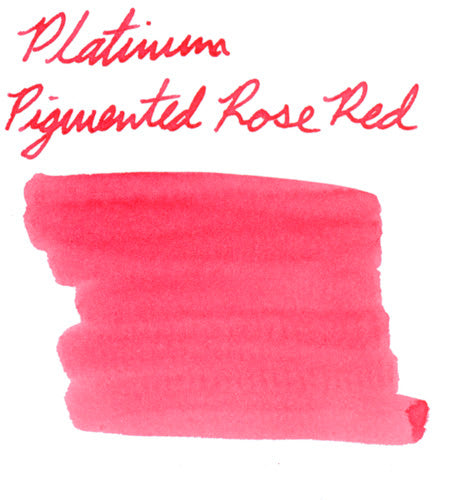Platinum Pigmented Rose Red