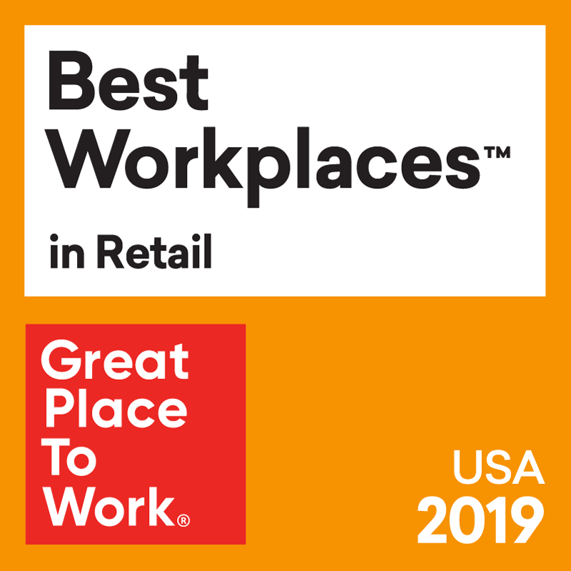 Best Workplaces in Retail 2019