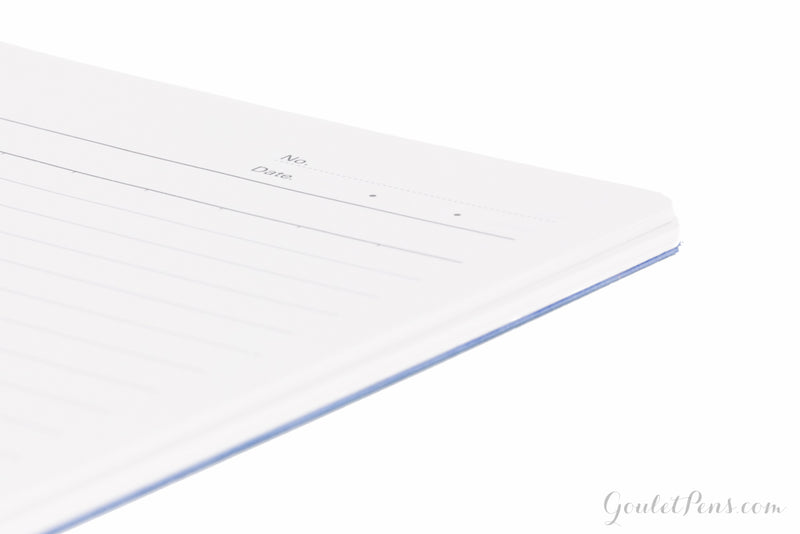 Apica CD-40 Wirebound Notebook - Blue, Lined (8.27 x 11.73)
