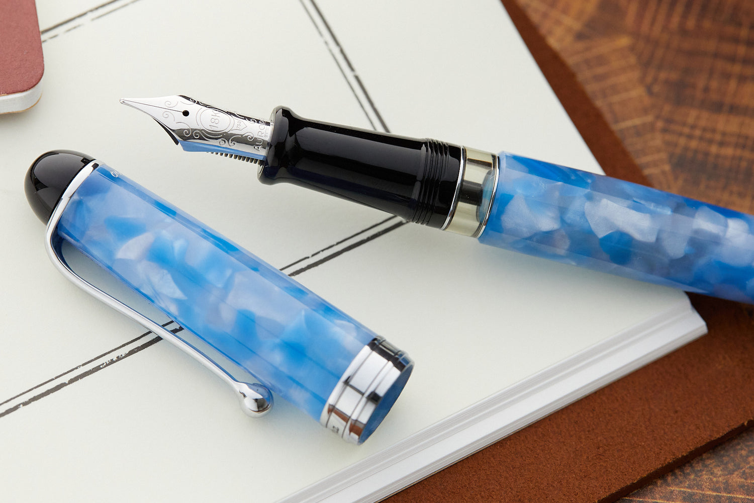 Aurora 88 Fountain Pen - Plutone (Limited Edition)