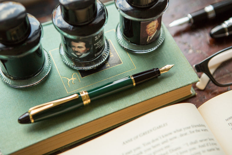 Aurora Ipsilon Fountain Pen - Green