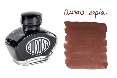 Aurora Sepia - 55ml Bottled Ink
