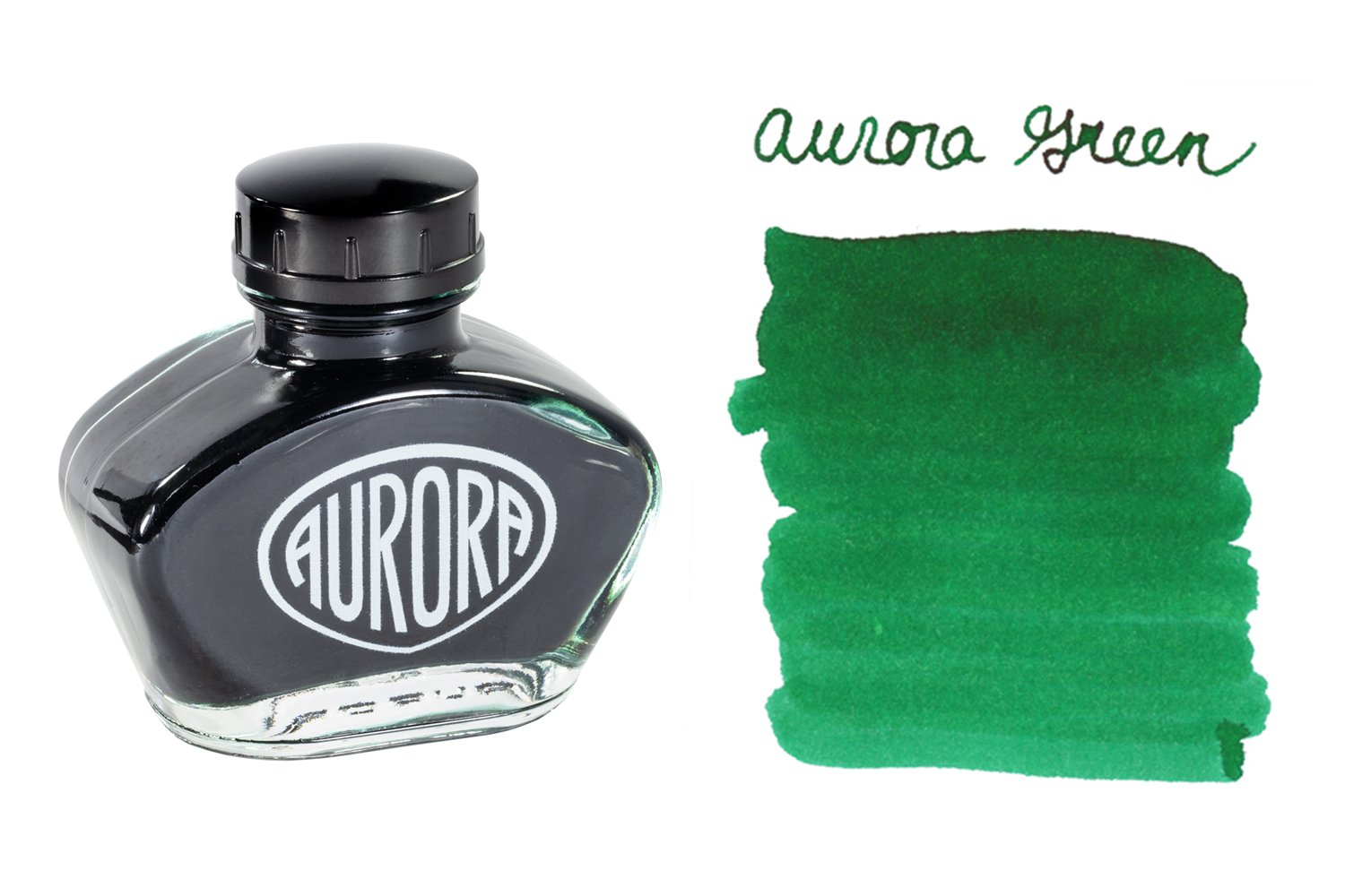 Aurora Green - 55ml Bottled Ink