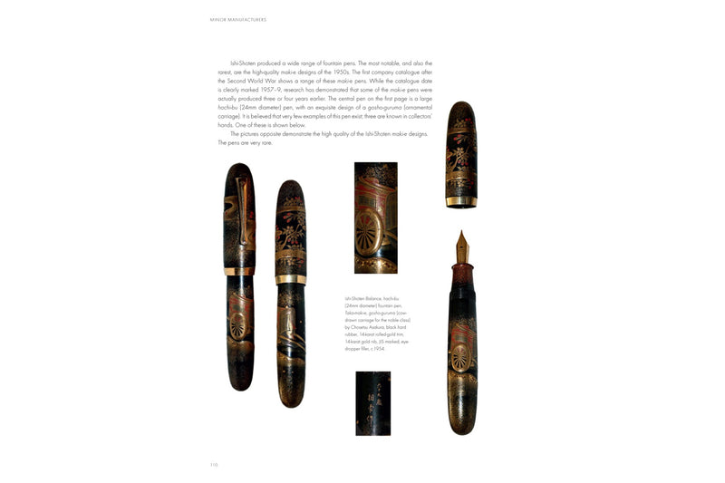 Fountain Pens of Japan Book
