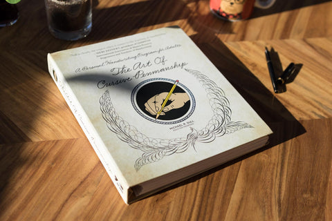 The Art of Cursive Penmanship Book