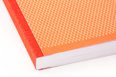 Clairefontaine 1951 Clothbound Notebook - Red Coral, Lined (5.83 x 8.27)