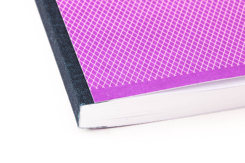 Clairefontaine 1951 Clothbound Notebook - Violet, Lined (5.83 x 8.27)