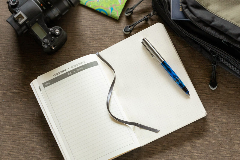 Clairefontaine Basic My Essential A5 Notebook - Grey, Dot Grid
