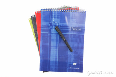 Clairefontaine Classic Top Wirebound Notepad - Lined (8.27 x 11.69)