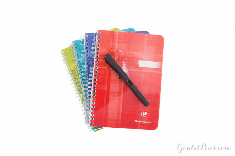Clairefontaine Classic Wirebound Notebook - Lined (5.91 x 8.27)