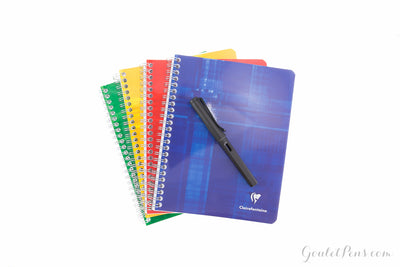 Clairefontaine Classic Wirebound Notebook - French-Ruled (6.69 x 8.66)
