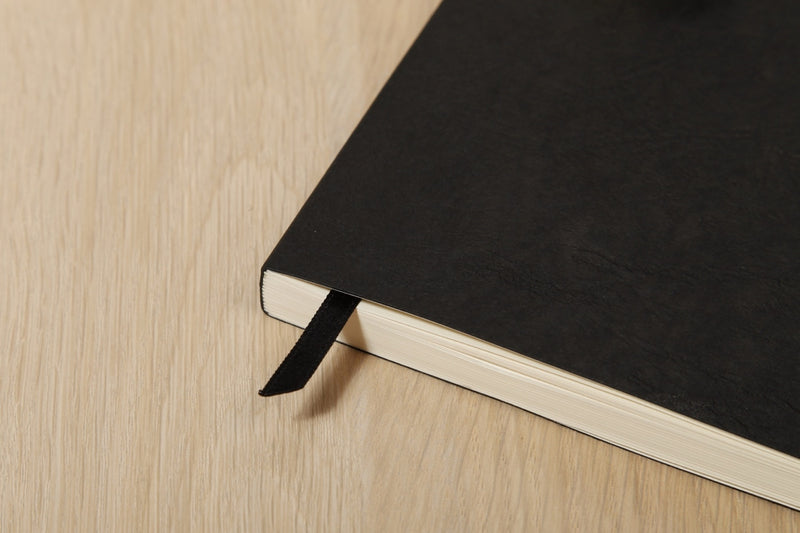 Clairefontaine Basic My Essential A5 Notebook - Black, Dot Grid