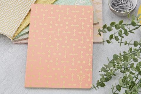 Clairefontaine Neo Deco A5 Notebook - Parure, Lined