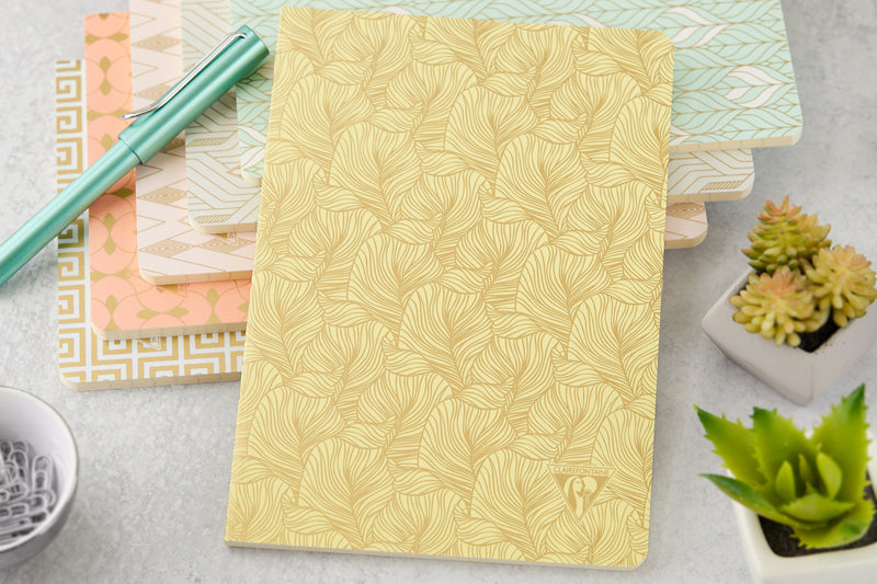 Clairefontaine Neo Deco A5 Notebook - Tropical, Lined