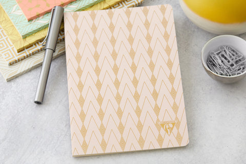 Clairefontaine Neo Deco A5 Notebook - Zenith, Lined