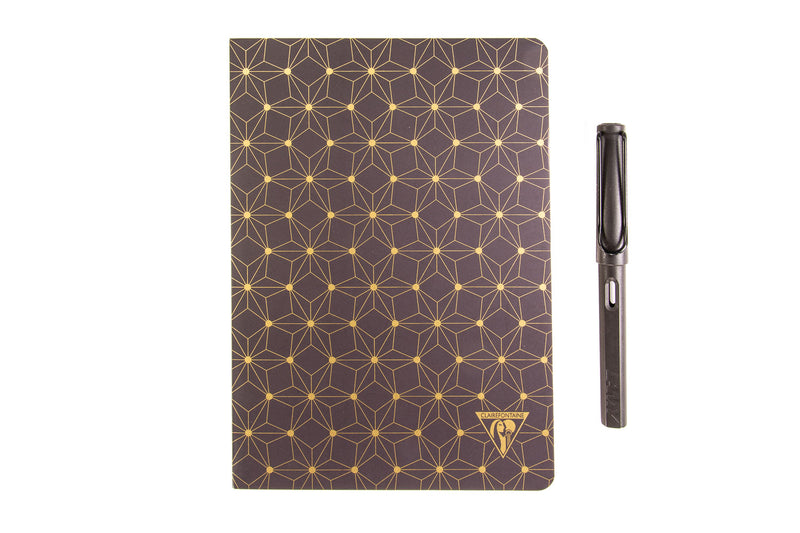 Clairefontaine Neo Deco A5 Notebook - Constellation, Lined