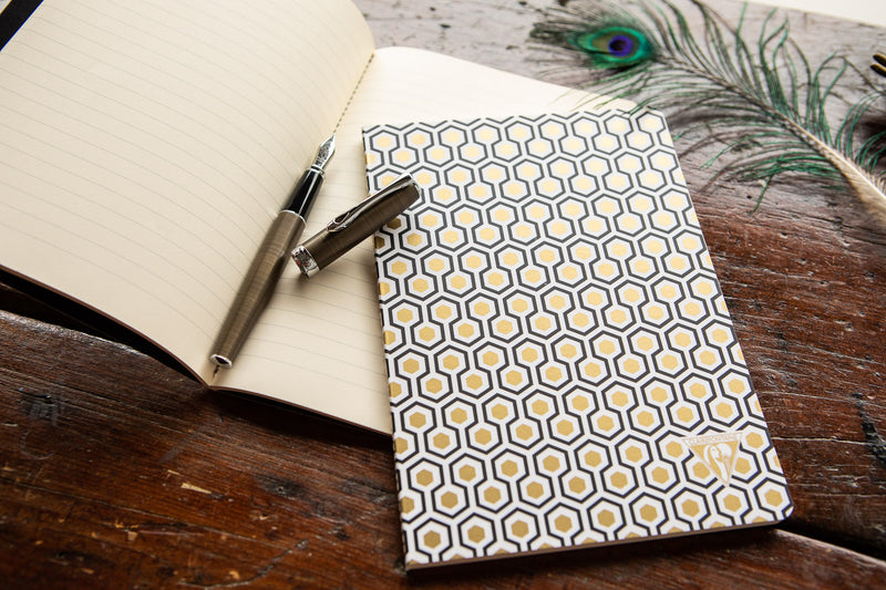 Clairefontaine Neo Deco A5 Notebook - Honeycomb, Lined