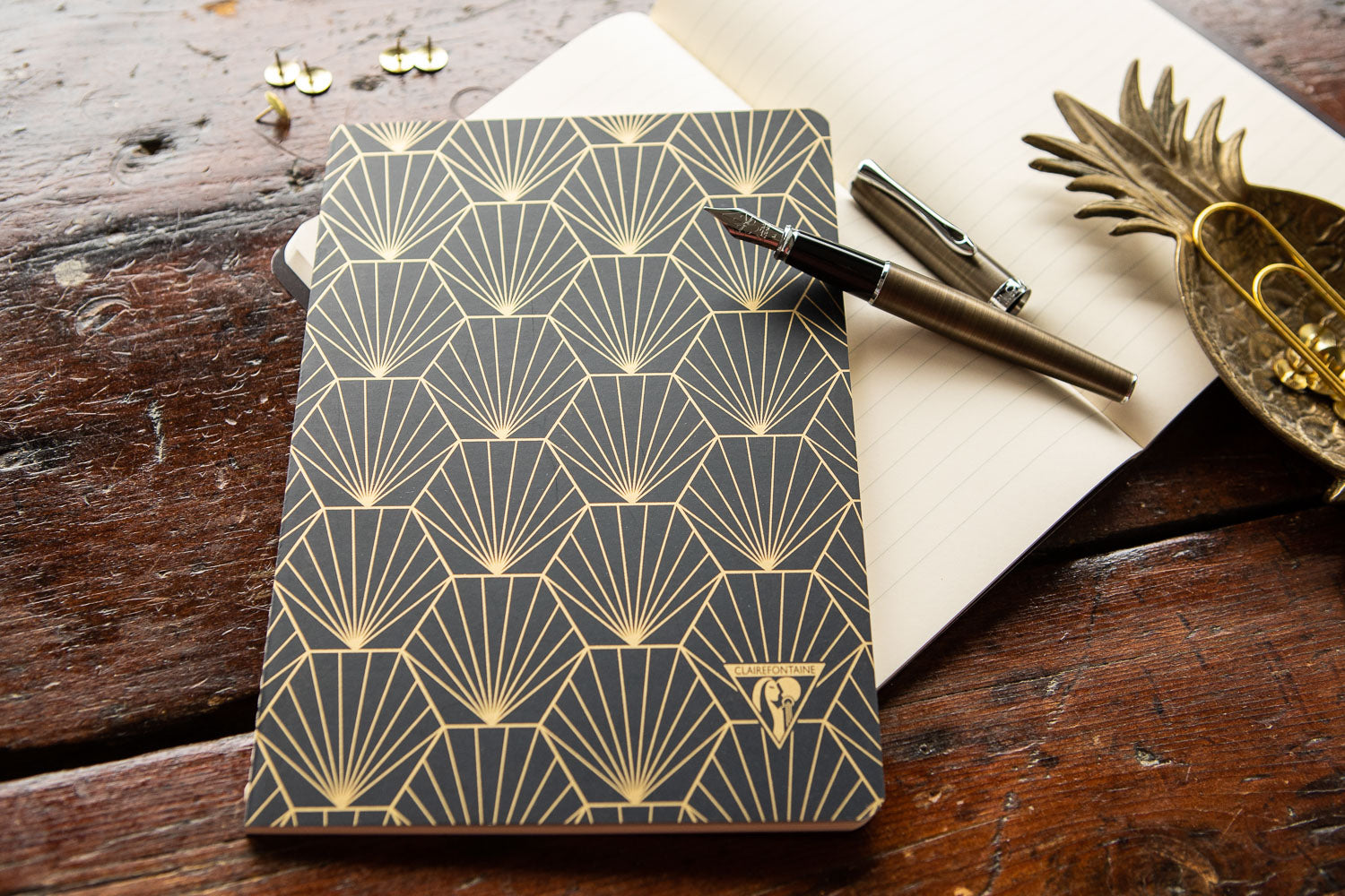 Clairefontaine Neo Deco A5 Notebook - Shell, Lined