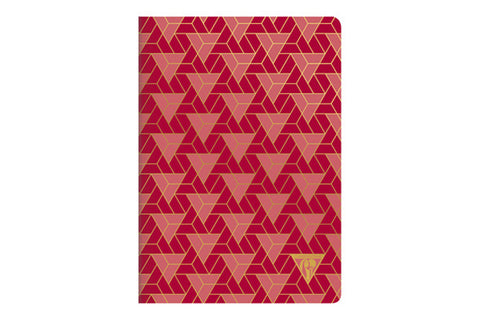 Clairefontaine Neo Deco A5 Notebook - Triangles, Lined