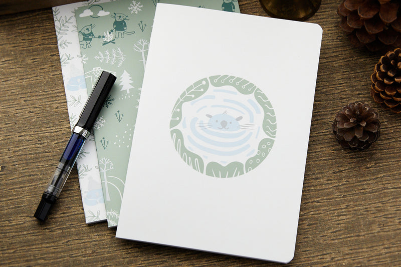 Clairefontaine Gentleness Staplebound A5 Notebooks - Lined (3-Pack)