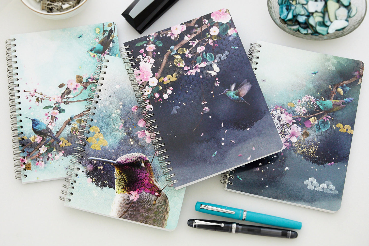 Clairefontaine Sakura Dream Wirebound A5 Notebook - Lined