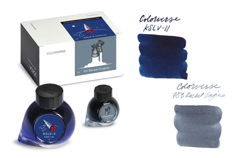 Colorverse KSLV-II & 75t Rocket Engine Special Edition (65ml + 15ml Bottled Ink)