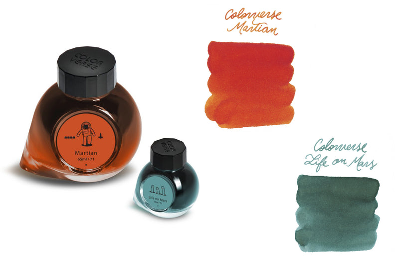 Colorverse Martian & Life on Mars (65ml + 15ml Bottled Ink)