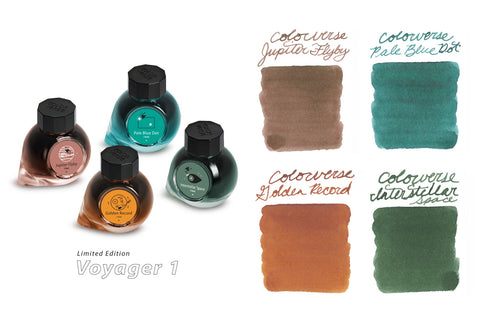 Colorverse Voyager 1 Limited Edition Ink Set