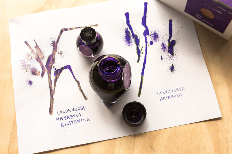 Colorverse Hayabusa & Hayabusa Glistening Special Edition (65ml + 15ml Bottled Ink)