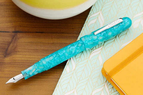 Conklin All American Fountain Pen - Turquoise Serenity