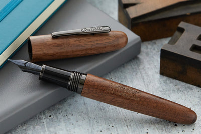 Conklin All American Fountain Pen - Golden Walnut/Gunmetal (Limited Edition)