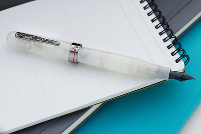 Conklin All American Courage Fountain Pen - White (Limited Edition)