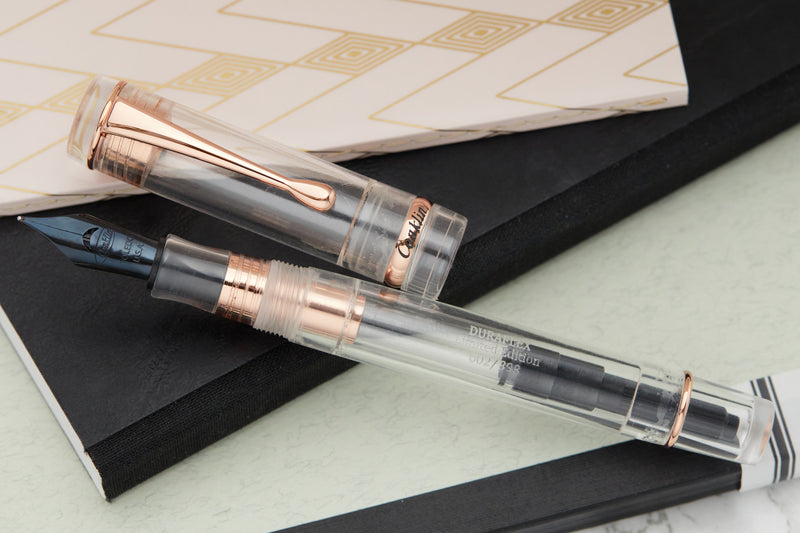 Conklin Duragraph Fountain Pen - Demo/Rose Gold (Limited Edition)