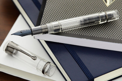 Conklin Duragraph Fountain Pen - Demo/Black (Limited Edition)