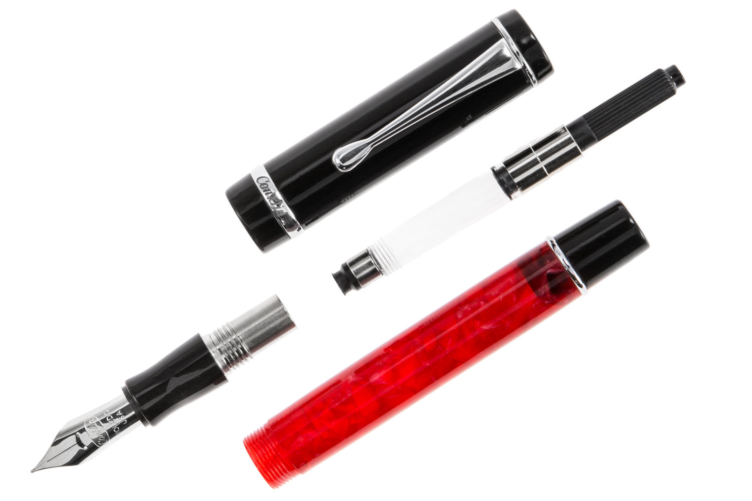 Conklin Duragraph Fountain Pen - Red Nights