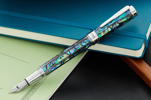 Conklin Endura Fountain Pen - Abalone/Chrome (Limited Edition)