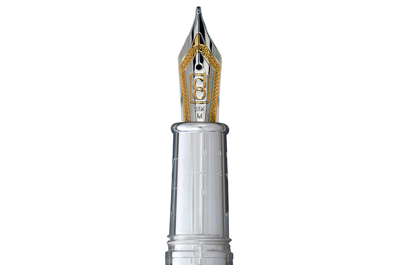 David Oscarson Alexander Fleming Fountain Pen - Grey