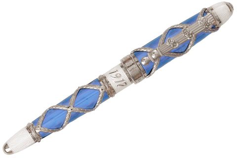 David Oscarson Russian Imperial Fountain Pen - St. Petersburg Sky Blue